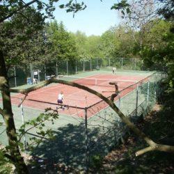 Tennisbaan Wapen van Marion