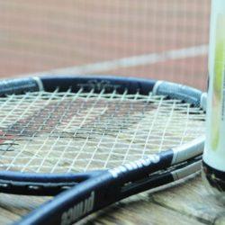 Tennisracket Wapen van Marion